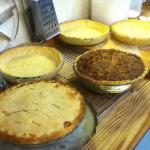 Homemade pies! Come by and enjoy!